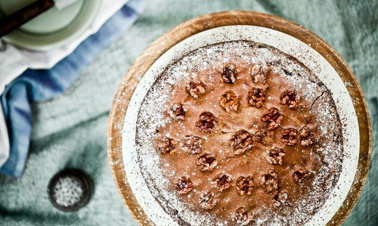 Švýcarský ořechovo-čokoládový koláč   KITCHENETTE