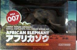 海洋堂 メガソフビアドバンス MSA007 アフリカゾウ 450mm/AFRICAN ELEPHANT 450mm