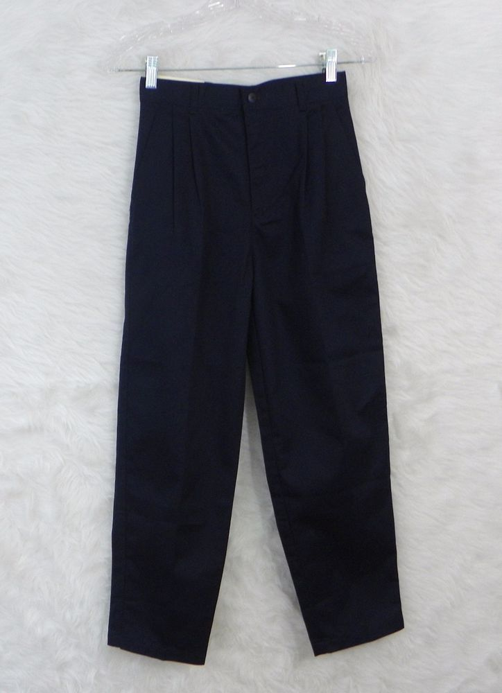 NEW Girls CROSSBOW Navy Pleated Wrinkle Resistant School Uniform Pants Size 12 #Crossbow #Pants