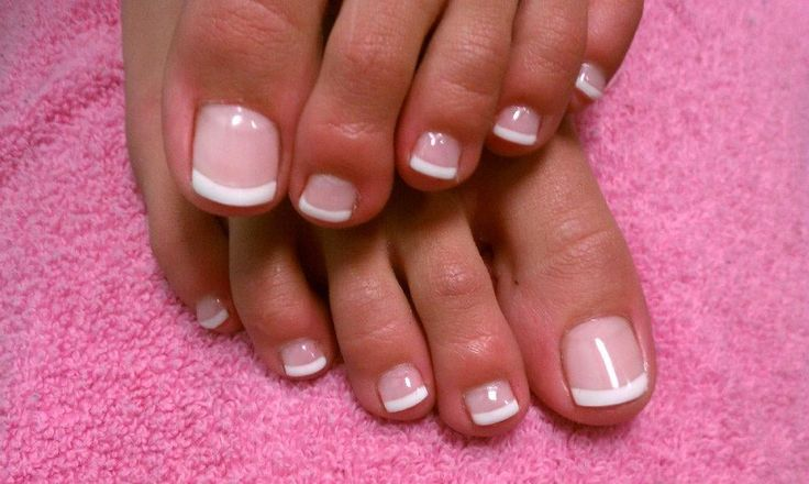Photo of The Nail Shoppe - Las Vegas, NV, United States. LCN Gel - French Toes