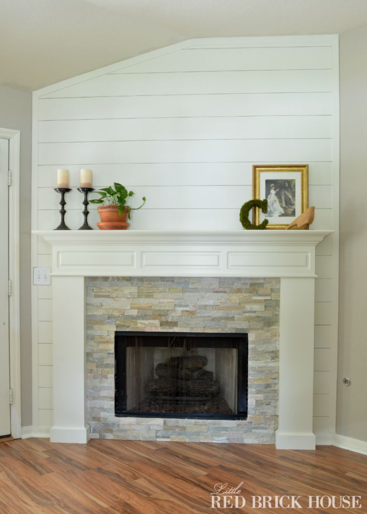 fireplace makeover stonework - How To Stone Veneer Fireplace