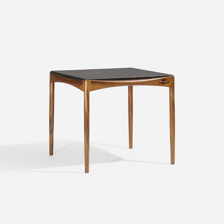 Lot: A. Bender Madsen and Ejner Larsen, game table, Lot Number: 0368, Starting Bid: $1,500, Auctioneer: Wright, Auction: Scandinavian Design, Date: May 18th, 2017 PDT