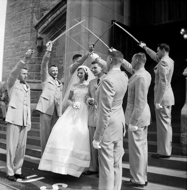 West Point Wedding, NY, 1959