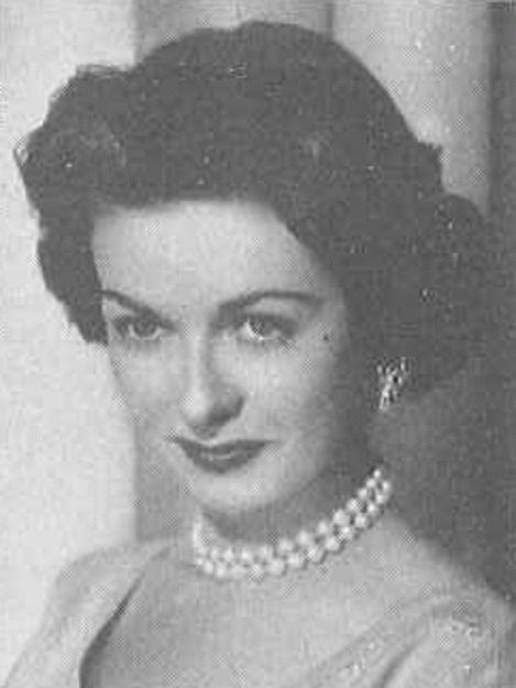 Actress Joan Bennett looking a bit like actress Ruth Hussey