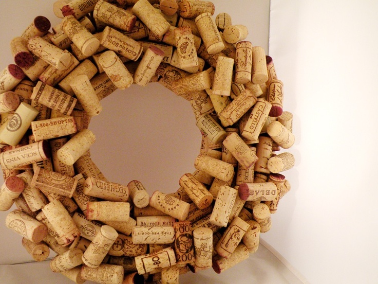 Maybe I will try this with all of my many wine corks!