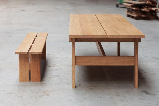 Mobilier Durable Collection De Meubles En Bois Par Le Studio Foret Journal Du Design En 2020 Collection De Meubles Mobilier De Salon Mobilier