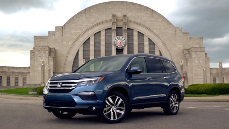 Awesome Honda 2017: 2016 Honda Pilot Review - First Drive  Cars That Go Vroom!