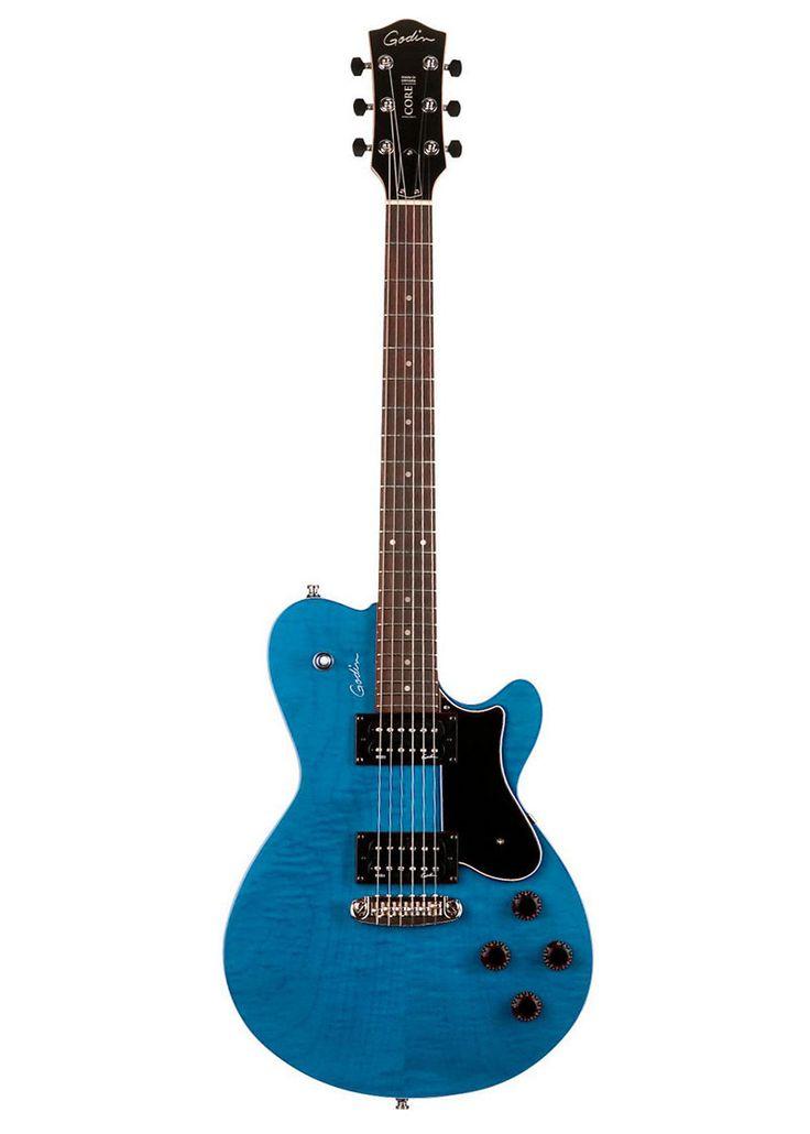 Guitarra eléctrica Godin Core HB GT, un cuerpo comodo con tapa de arce y pastillas humbuckers. #musicheadstore #electricguitar #Godincore #guitar