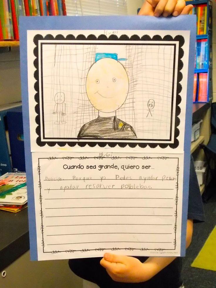 """""""When I grow up, I want to be a..."""" (Ayudantes de la comunidad)"""