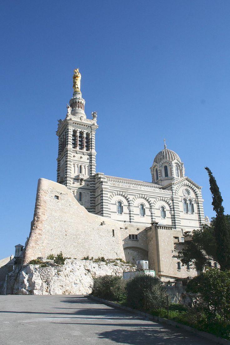 Basilique Notre-Dame-de-la-Garde à Marseille