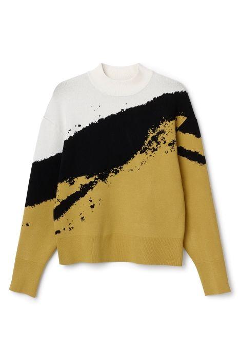 Hint Jacquard Sweater