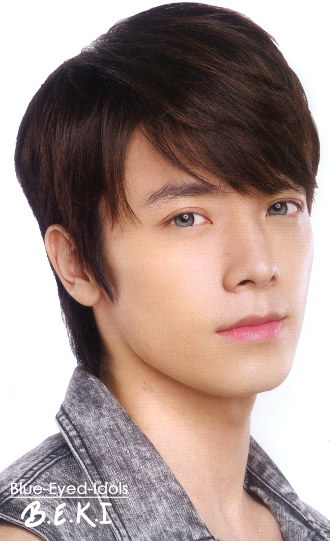 Lee Donghae for Blue-Eyed Idols