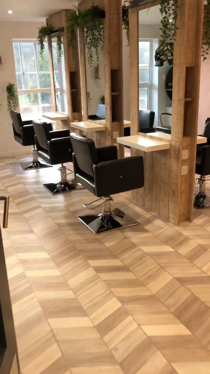beauty Salon plan - Hair Salon Interior, Urban Design in 20