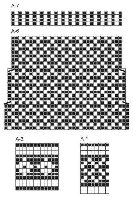 """Strikkede DROPS sokker i """"Fabel"""" med mønster. Str 35 - 43."""