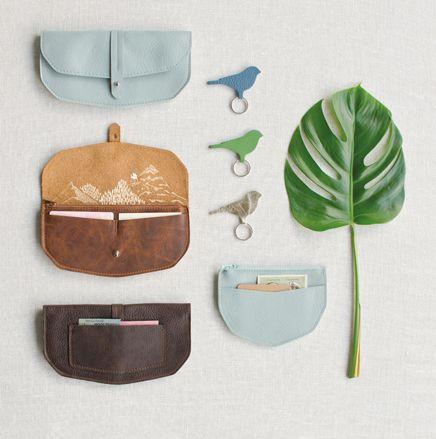 Wallet Move Mountain Faded Blue - Keecie - BijzonderMOOI* Dutch design online