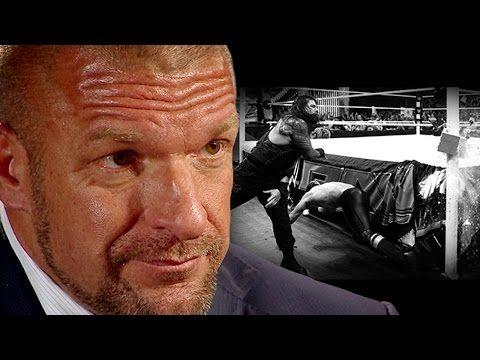 Triple H discusses potential punishment for Roman Reigns