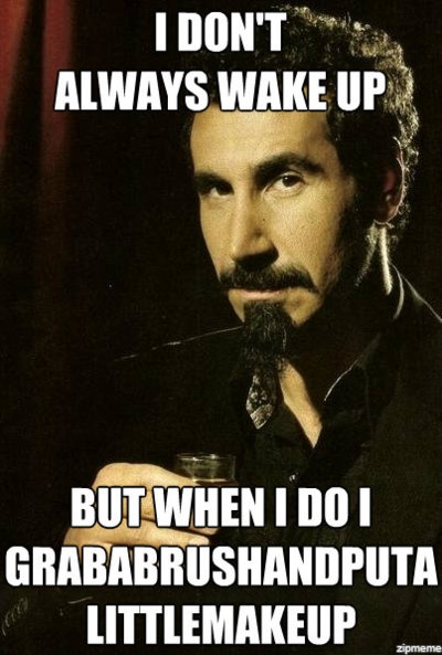 Chop suey. If you don't know the song, you probably don't get it.