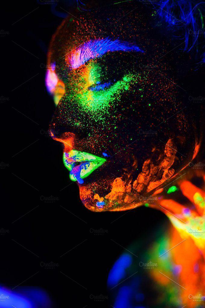 schwarzer neon