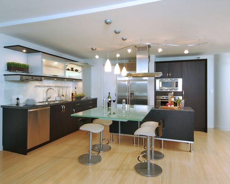 Cocina #cubierta #vidrio #templado #diseño #decoracion ...