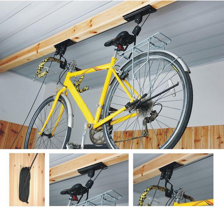 Plafonra szerelhető kerékpártartó