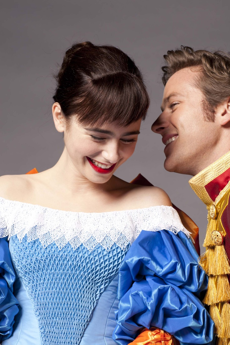 Lily Collins and Armie Hammer star in Mirror Mirror - the Chemistry between these two in the movie was just magical!! <3
