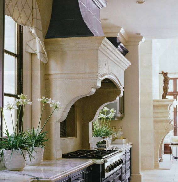 Good proportion stone ventahood: Kitchens, Cabinets, Rangehood Ideas, Vent Hood, Range Hoods, Kitchen Design, House, Kitchen Hoods, Kitchen Ideas