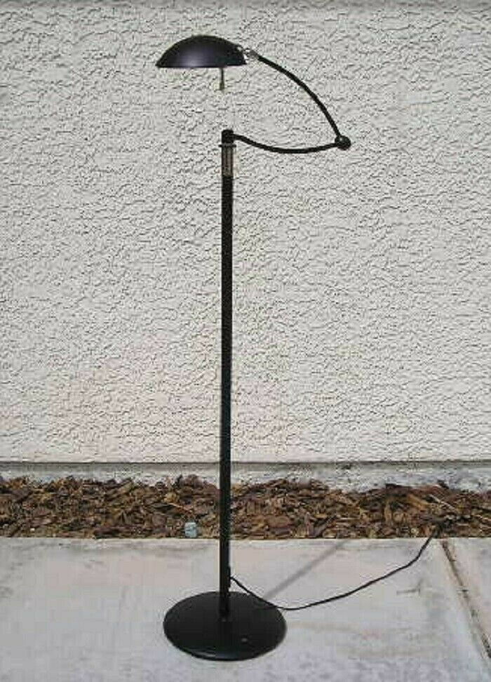 Modern Holtkotter Leuchten Swing Arm Adjustable Floor Lamp Floor