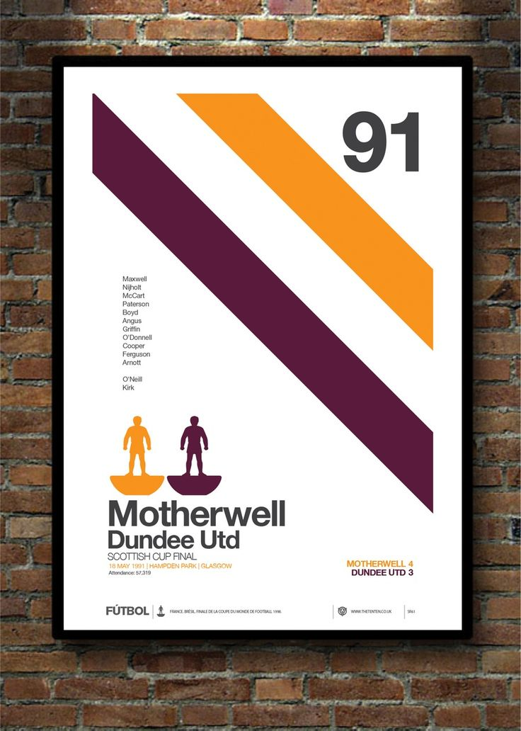 Image of MOTHERWELL 1991 SCOTTISH CUP FINAL
