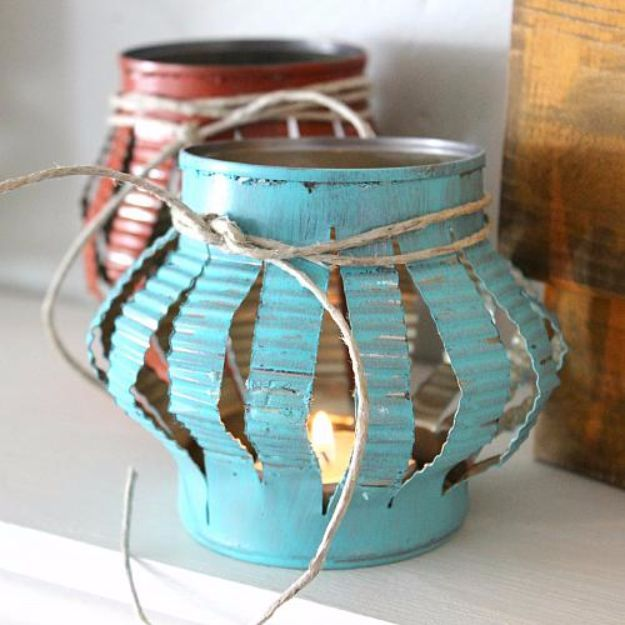 Best 25 recycled tin cans ideas on pinterest tin can for Tin projects