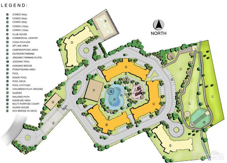 Amandari Eco Conscious Residential Living Map
