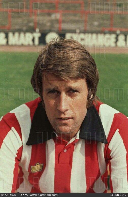 Geoff Hurst of Stoke City in 1974.