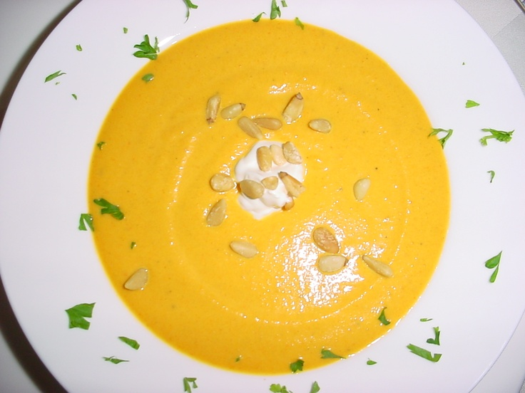 Curried Carrot Soup | YELLOW | Pinterest