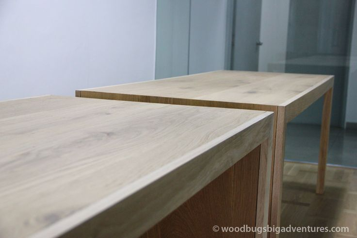 Meeting room tables made from floorboards www.woodbugsbigadventures.com