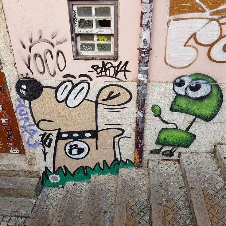 Lisbon  by the street artist Basta  #lxdog #streetart #sprayart #urbanart #instaart #graffiti #instagraff #dogstagram #instadog #ilovedogs #lisboa #lisbon #lisbonne #lissabon #lisbona #Лиссабон #里斯本 #リスボン #instalike #instalisboa #instalisbon #instatravel #instacool #instagood #welovelisbon #visitlisboa #visitlisbon #visitportugal #portugal #walkinginlisbon