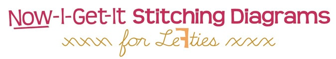 #embroidery stitches for #lefties: Team Lefti