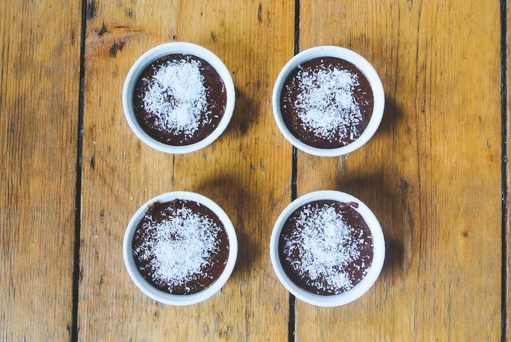 Chocolate & Banana PALEO cupcakes