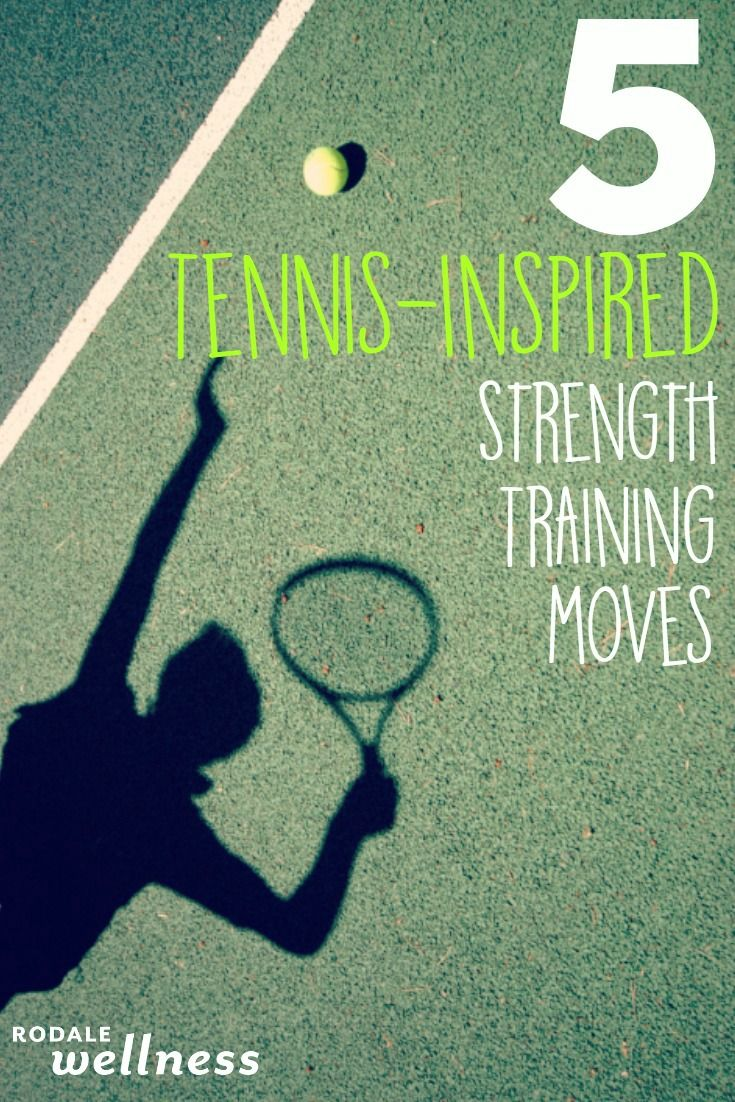 Forehand, backhand, overhand. Master all of the swings with these strength training moves from thistennis inspired workout.
