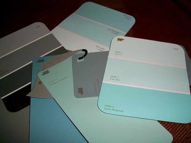 On Sunday, I Picked Up A Few Paint Swatches For Both Our Room And The