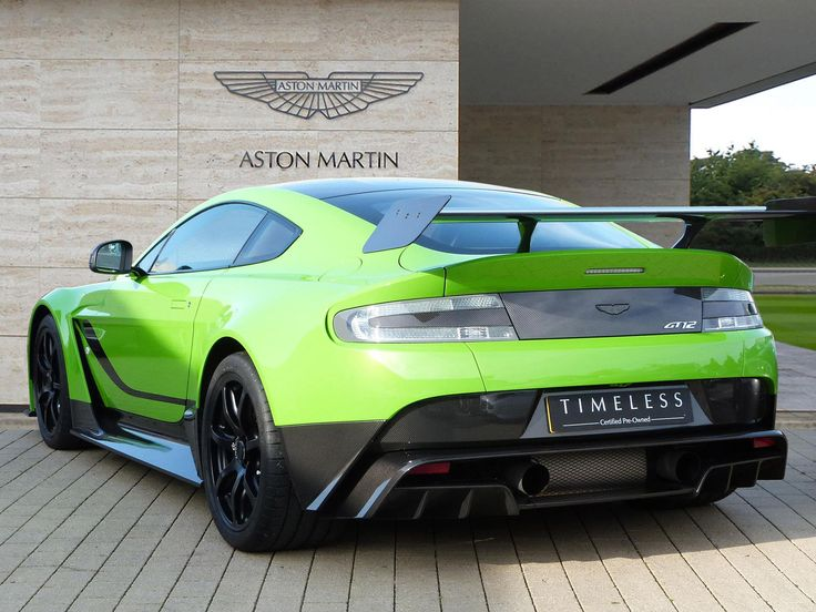 One uk dealer has two aston martin vantage gt12s for sale