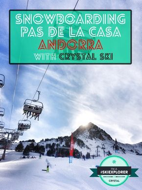 A weeks snowboarding in Pas De La Casa, what a blast that was!  Andorra's première snow resort did not disappoint as my 2016 snowboarding destination of choice, and having been elected Crystal Ski's Gadget Guru #SkiExplorer for 2016
