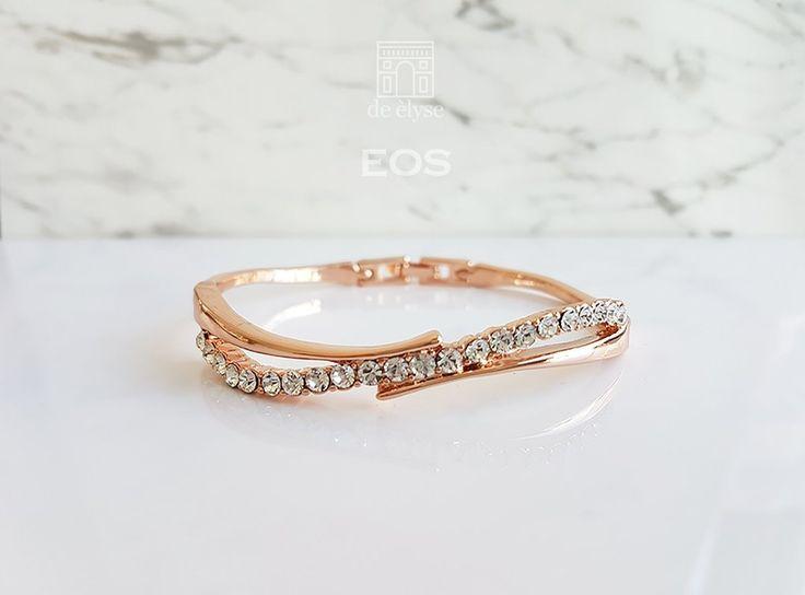 Eos Rose Gold Bangle