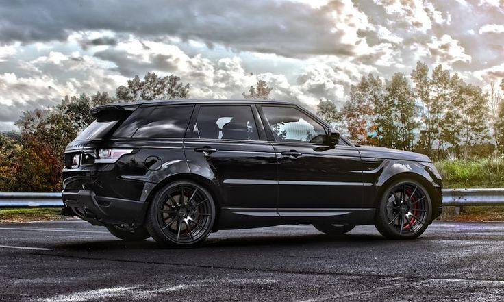 Video: Sådan skal en Range Rover Sport V8 brøle!