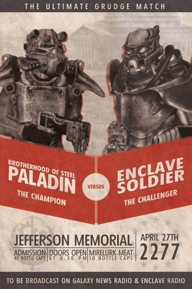 fallout brotherhood of steel vs. enclave - Google Search