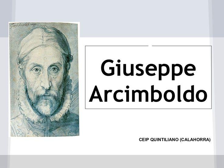 Arcimboldo by cpquintiliano via slideshare