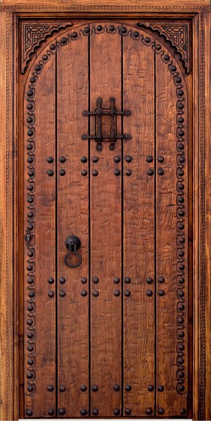 17 best images about decoraci n on pinterest painted - Puertas madera rusticas exterior ...