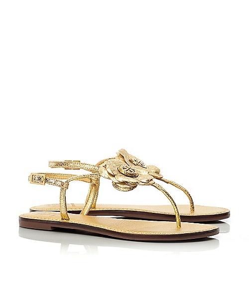 Tory Burch Metallic Shelby Thong. Cute SandalsStrap ...