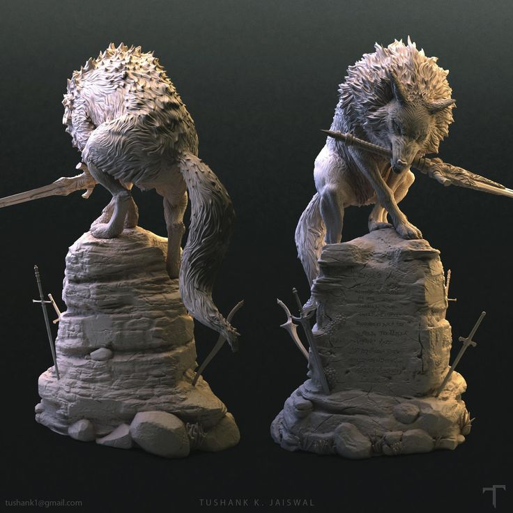 Hey guys, this is a project for 3d print I did about a year ago. It was a great pleasure to work on such a big statue with lot of details in it.  You can get it here - http://www.first4figures.com/component/option,com_myphp/Itemid,3/product,179
