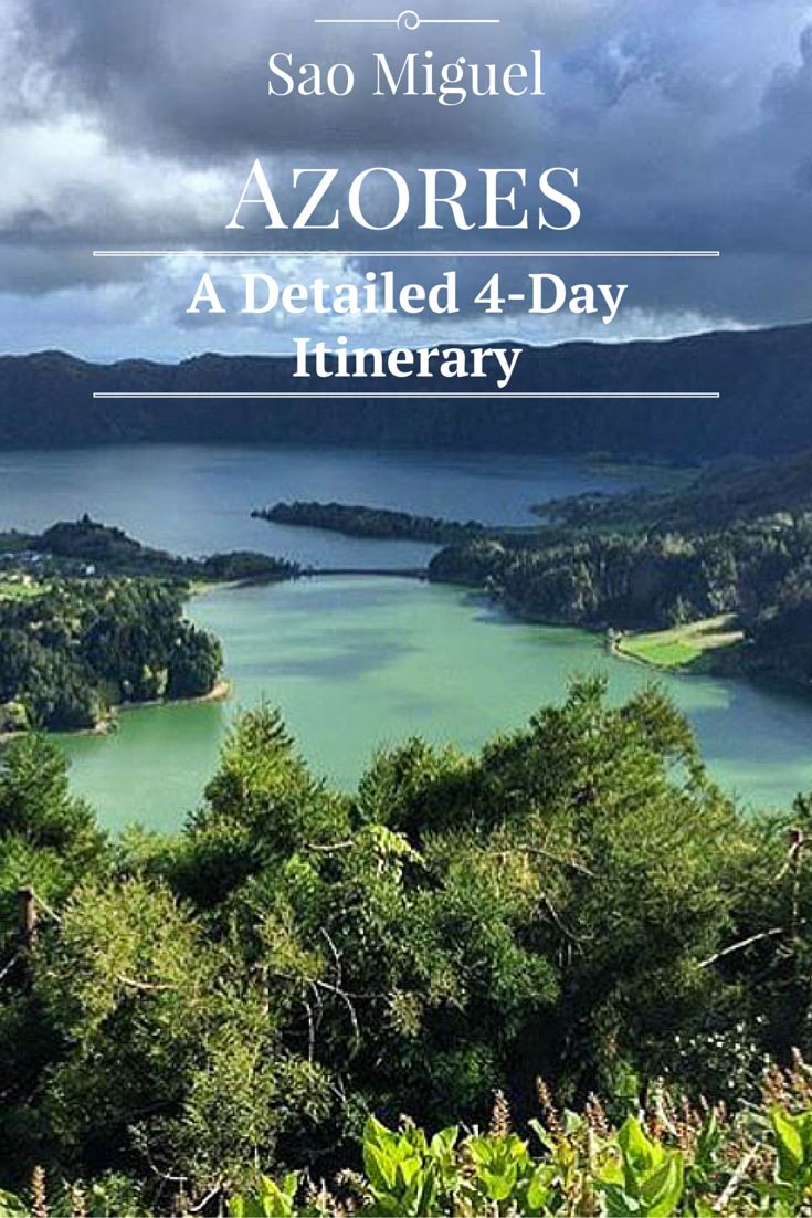 @timm3h this summer?  The perfect 4-day Itinerary for exploring Sao Miguel, Azores..including map!