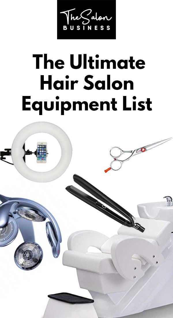 The Ultimate Hair Salon Equipment List - With Prices! The ...
