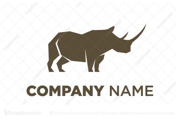 Logo for sale: Tough Rhino Logo